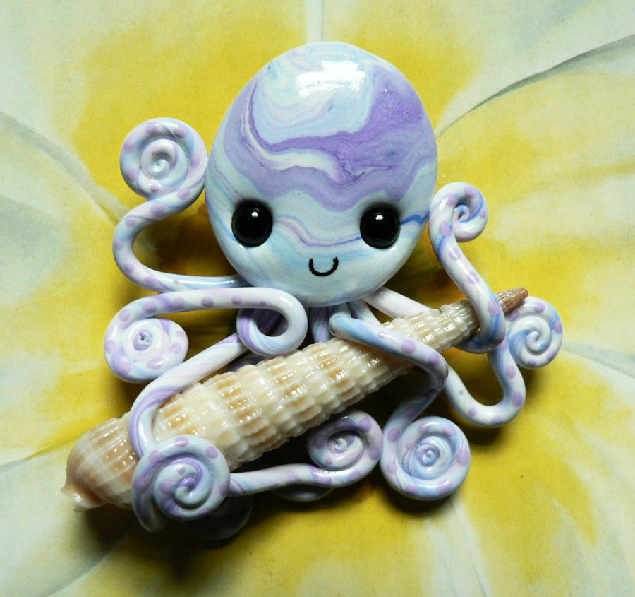 octopus_with_atlantic_auger_magnet_by_blackmagdalena-d4jrumz
