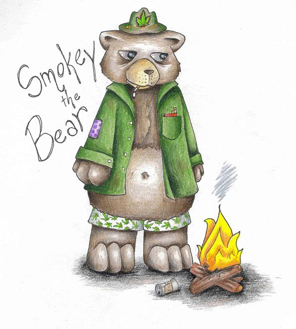 smokey_the_bear_by_blackmagdalena
