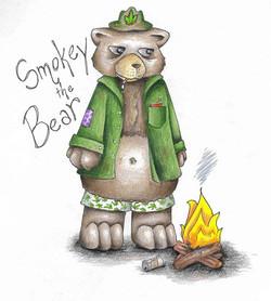smokey_the_bear_by_blackmagdalena