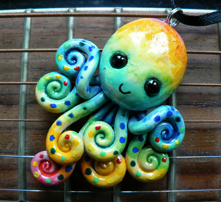 watercolor_rainbow_octopus_2_by_blackmagdalena-d4dffdm