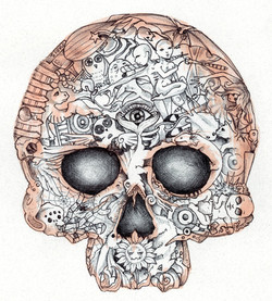 nightmare_skull_with_eyes_by_blackmagdalena-d4arcql