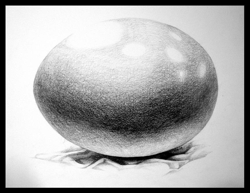 Value Study of an Egg