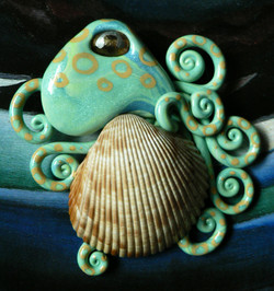 van_hyning__s_cockle_shell_octopus_magnet_by_blackmagdalena-d4jru2i