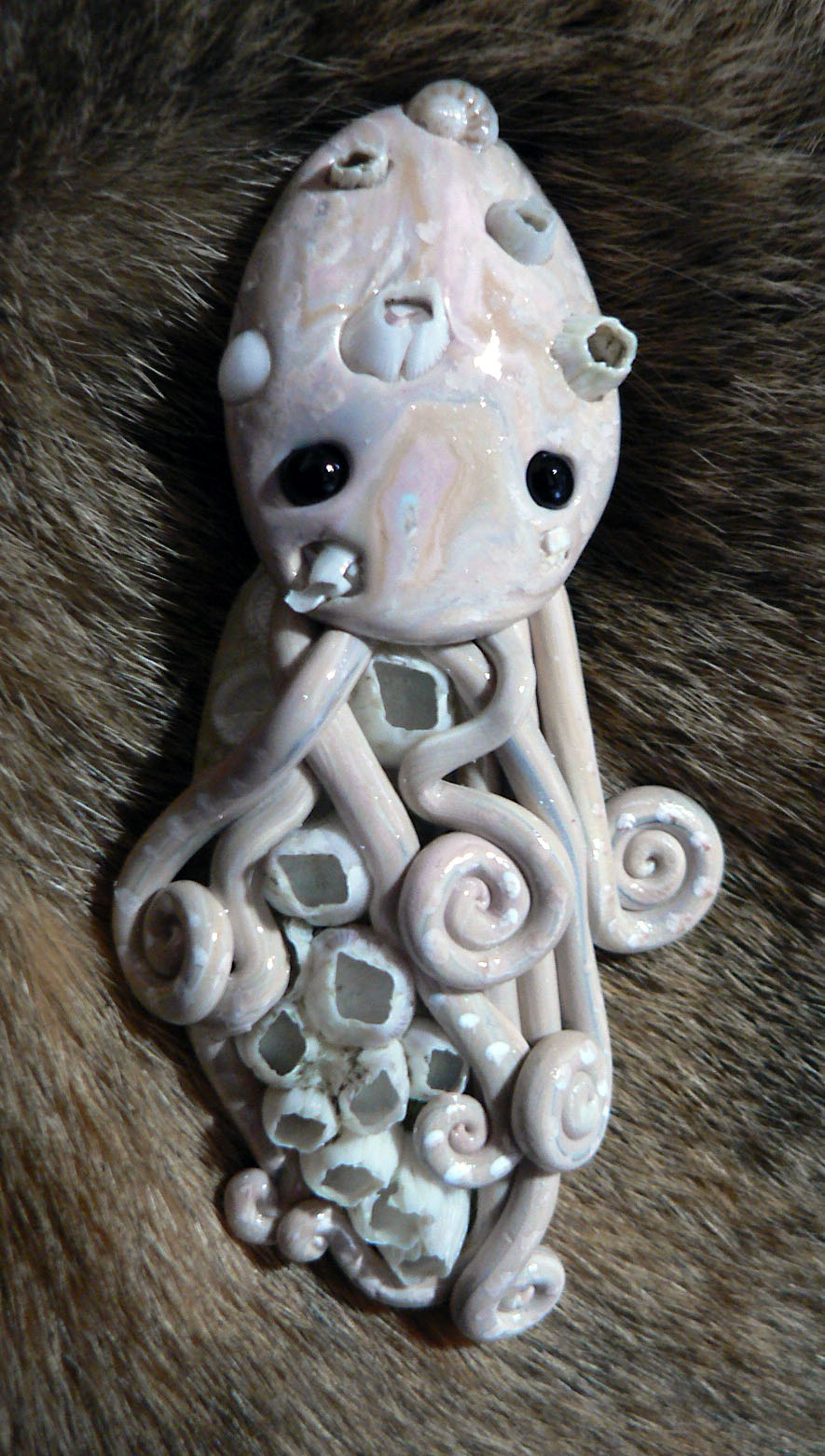 barnacle_octopus_magnet_by_blackmagdalena-d4fbp3c