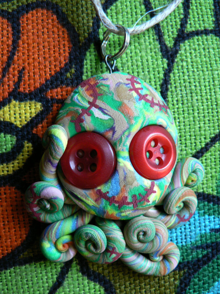 green_patchwork_stitchpunk_octopus_charm_by_blackmagdalena-d4f792i
