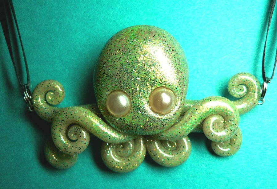 super_glitter_octopus_choker_by_blackmagdalena