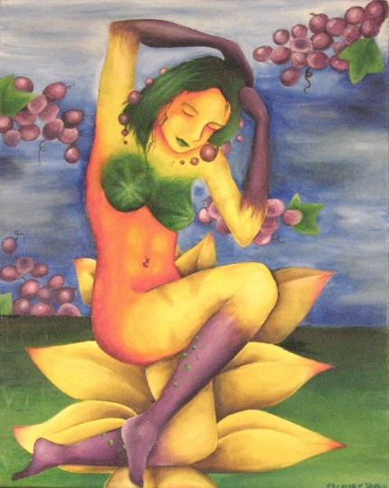fruit_woman_by_blackmagdalena