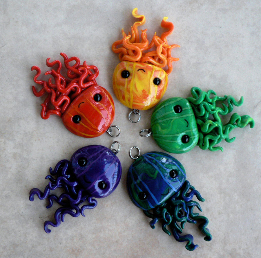 multicolored_jellyfish_pendants_by_blackmagdalena-d4fnmrp