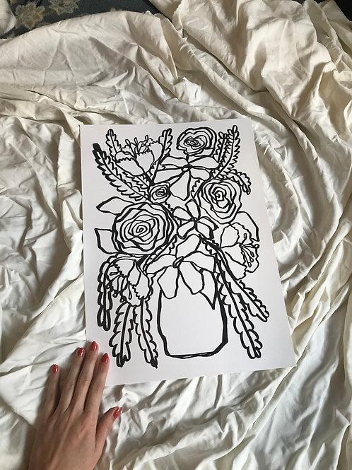 A3 Les Fleurs