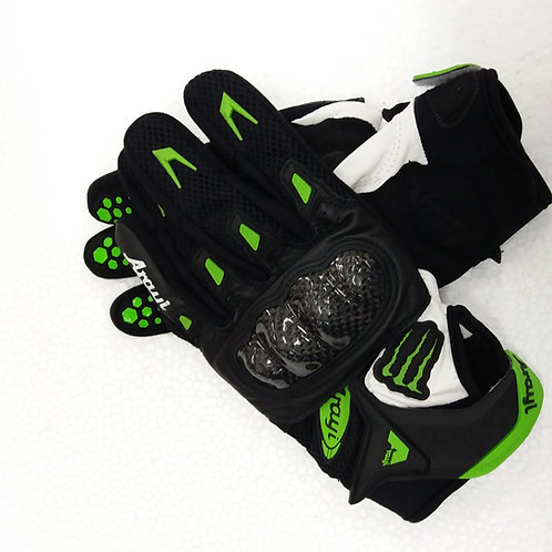 Arayi Leather Carbon Gloves