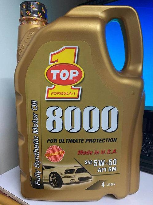 Top One (Formula 1) 8000 5W50 4L