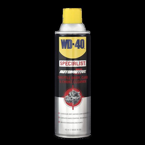 WD-40® SPECIALIST AUTOMOTIVE 節流閥, 化油器及阻風門清潔劑
