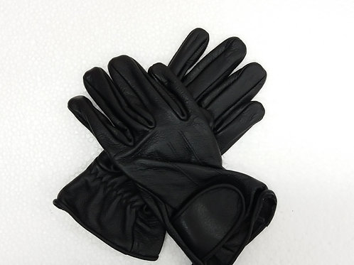 Leather soft gloves