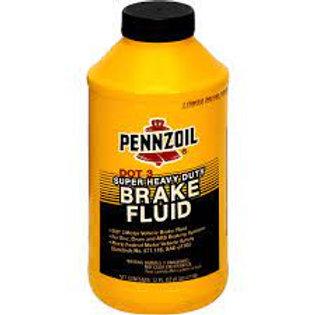 PENNZOIL 迫力油 Brake Fluid DOT 3