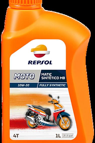 REPSOL MOTO MATIC SINTÉTICO MB 4T 10W-30
