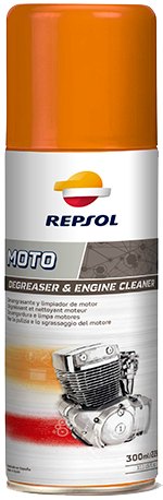 REPSOL MOTO DEGREASER & ENGINE CLEANER 引擎清潔劑 400ml