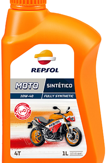 REPSOL MOTO SINTÉTICO 4T 10W-40 & 10W-50