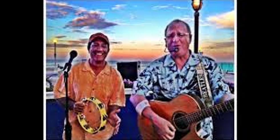 Live music with Tiki Bar Band