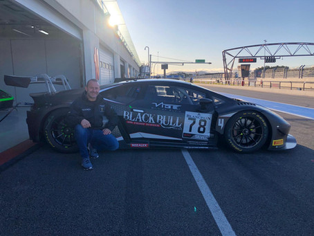 New Chapter for Rob with Lamborghini in British GT