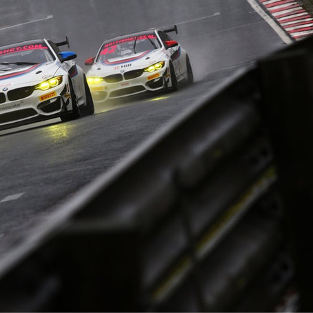 Ricky leads British GT4 Championship following last minute call-up