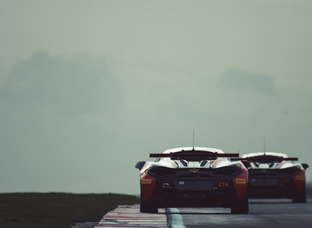 First Day In The Car For Jordan Collard At British GT Media day