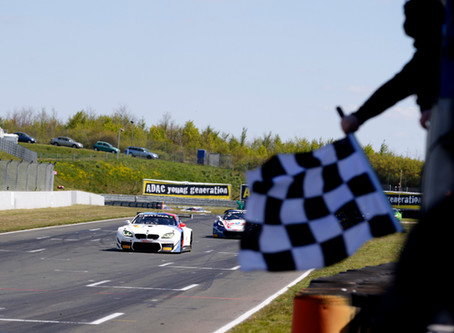 Collard brings home the gold as he wins in his first GT3 race weekend