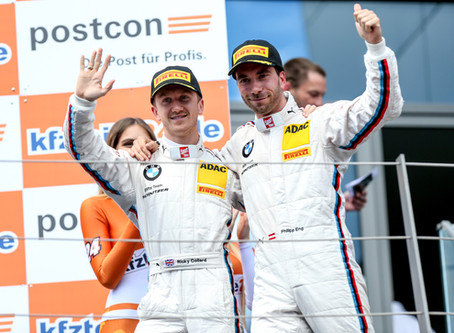 Ricky back on the podium in the ADAC GT Masters