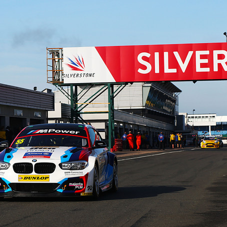 Collard puts Team BMW on front row at Silverstone