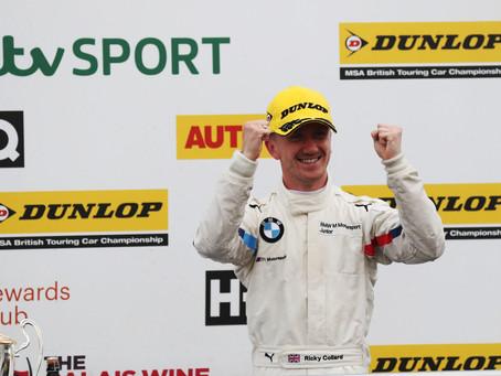 Ricky Collard Enjoys Huge Success at Silverstone