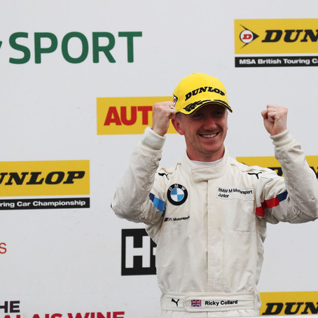 Ricky Collard Enjoys Huge Success at Silverstone