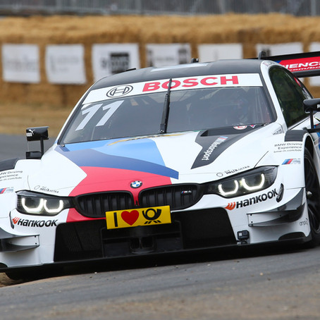 Ricky fly's at Goodwood in the BMW M4 DTM