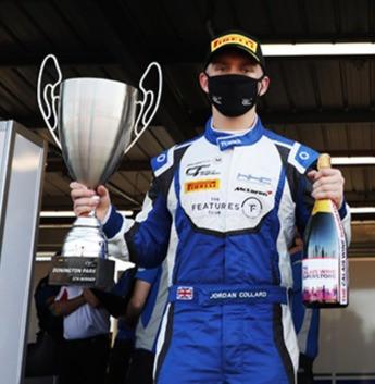 Superb drive sees Jordan take his maiden win of the season