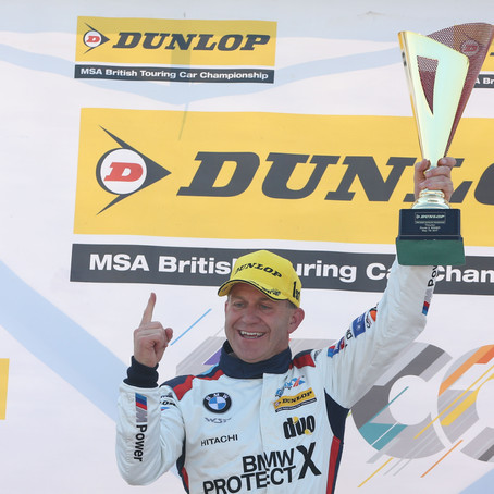 Rob takes the 150th BTCC victory for WSR