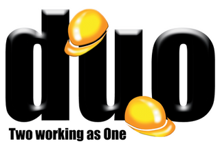 DUO Logo - Two working as One - Transpar