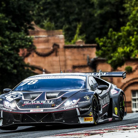 Rob grabs silverware in first British GT outing