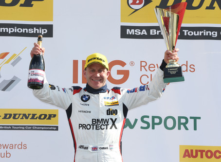 double podium for Rob at Snetterton