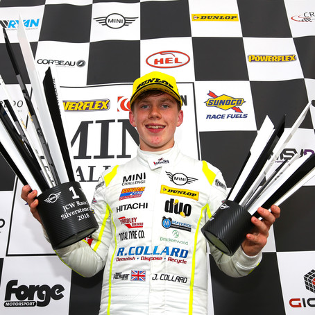 First Win For Jordan Collard In Mini Challenge At Silverstone