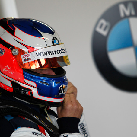 Rob signs BTCC contract with team BMW WSR