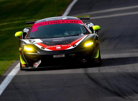 Mature drive by Jordan at Brands Hatch