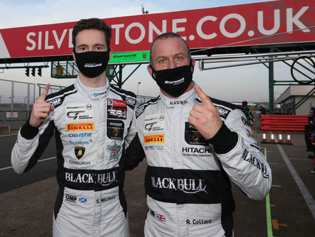 Silverstone 500: Race win from pole for Rob