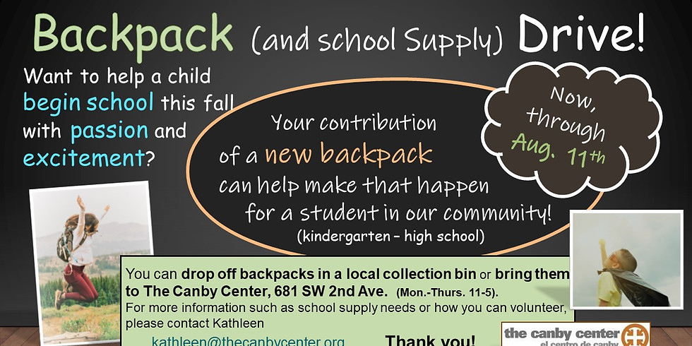 Backpack and School Supply Distribution