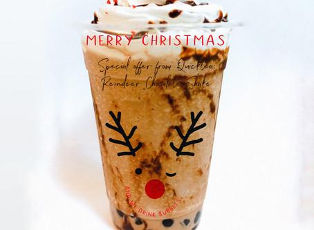クリスマス限定商品ーレインディアチョコレートシェイク