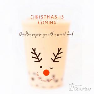Quicktea クィックティー クリスマス限定商品予告