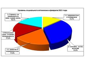 Мониторинговый опрос «Социальное самочувствие и социальный оптимизм нижегородцев. Февраль 2021 г.»