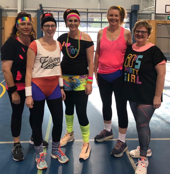 Acing the 80's Aerobics