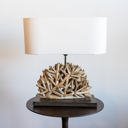 Upcycled Cluster Lamp