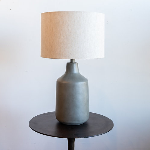Concrete Table Lamp - 28T x 14H
