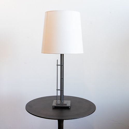 Metra Table Lamp w/ Linen Shade