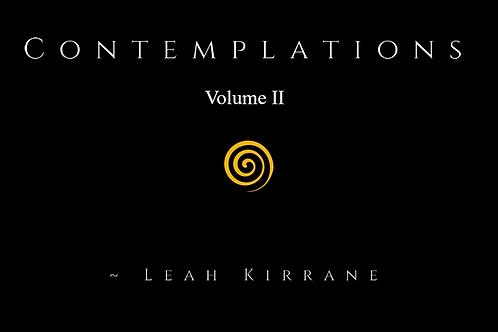 Contemplations Vol. II