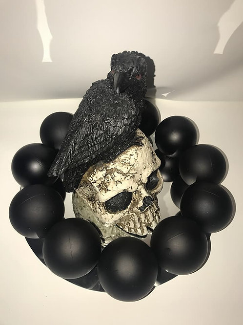 Raven and Skull Centerpiece